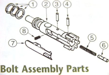 Complete Bolt Assembly (As Shown)