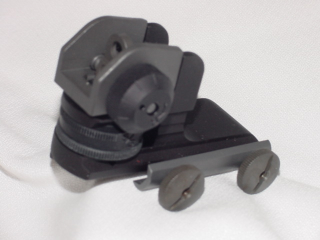 DPMS A2 detachable rear sight