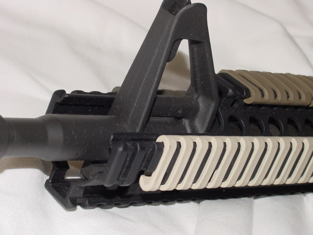 Clip-On Rail covers
