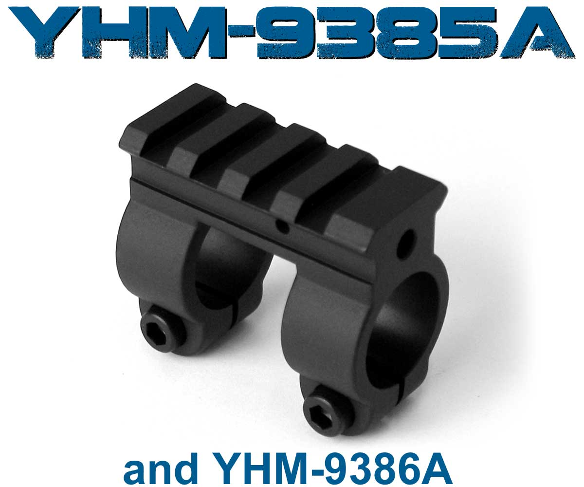 YHM Single Rail Gas Block