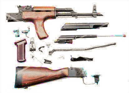 Romanian AK-47 Parts Kit