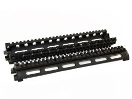 Rifle Length 2 Piece Four Rail Handguards