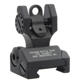 Troy Detachable Flip Up Rear Sight