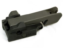 Mangonel Front Flip Up Sight, detachable